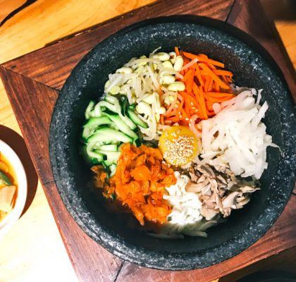 Bibimbap at House of Tofu | Hidden Gems Vancouver