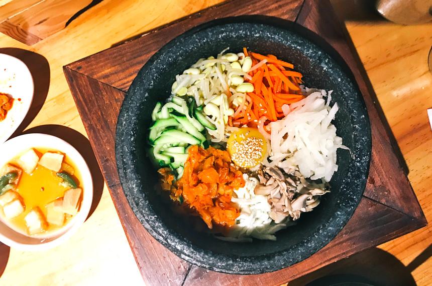 Bibimbap at House of Tofu | Hidden Gems Vancouver
