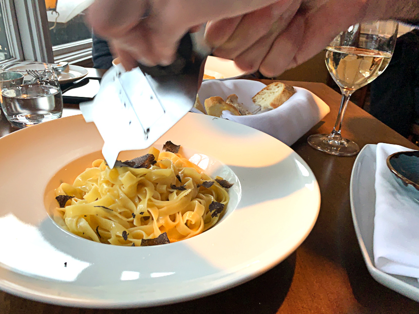 Fresh Truffle Fettuccine at Lupo | Hidden Gems Vancouver