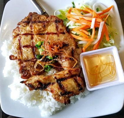 Lemongrass Chicken at Broken Rice | Hidden Gems Vancouver