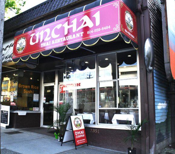 Unchai Restaurant | Hidden Gems Vancouver