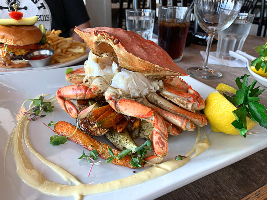 Dungeness Crab at Five | Hidden Gems Vancouver
