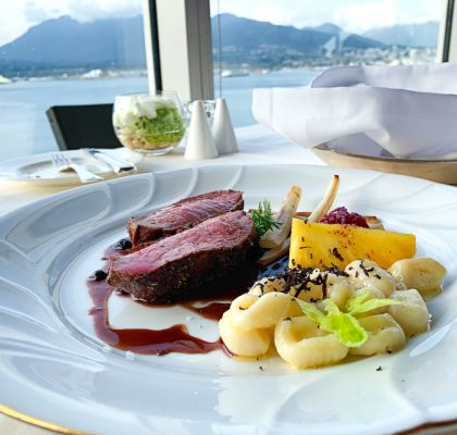 Honey Glazed Duck Breast at Five Sails | Hidden Gems Vancouver