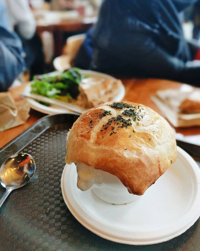 Salmon Chowder Pot Pie at A La Mode | Hidden Gems Vancouver