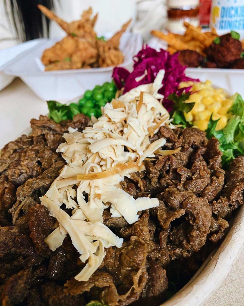 Bulgogi Beef Salad Bowl at Disco Cheetah Davie Village | Hidden Gems Vancouver