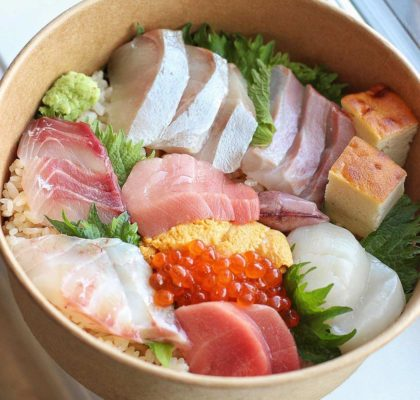 Chirashi Don at Sushi bar Shu | Hidden Gems Vancouver