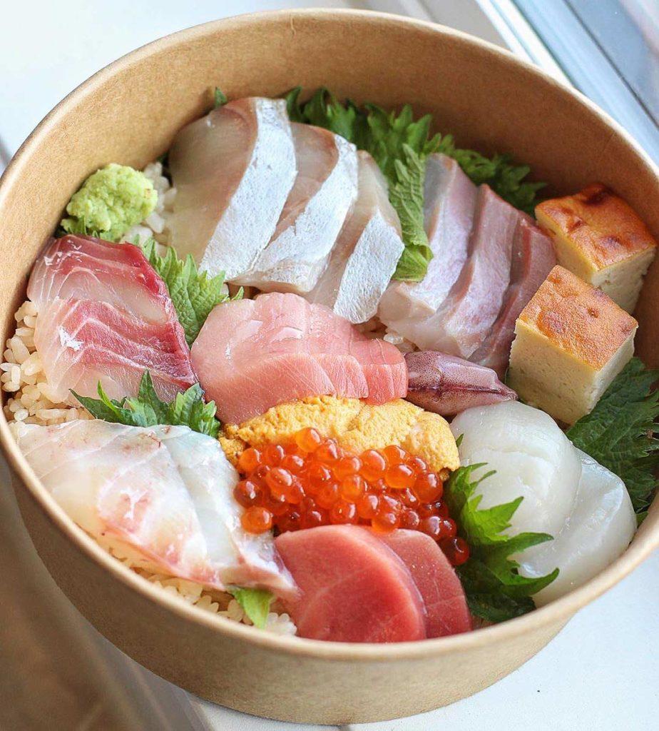 Chirashi Don at Sushi bar Shu | Hidden Gems Vancouver