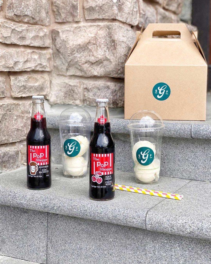 Ice Cream Float at Glenburn Soda Fountain | Hidden Gems Vancouver