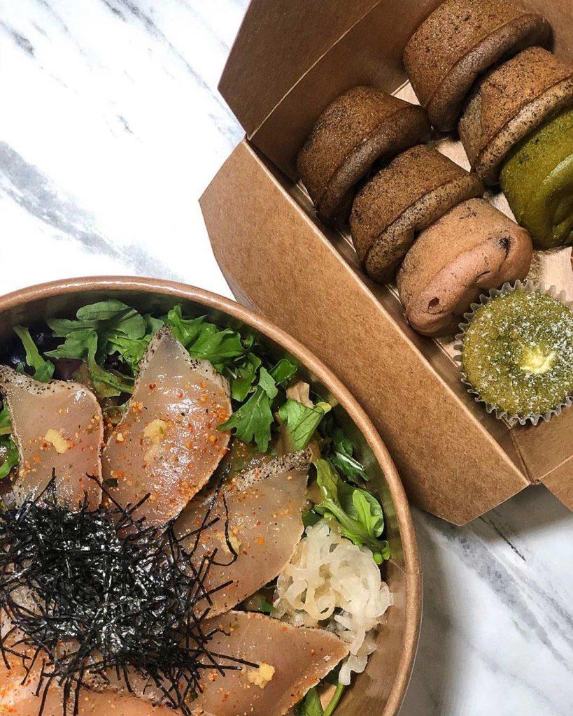 Tuna Tataki Rice Bowl at Yama Cafe | Hidden Gems Vancouver