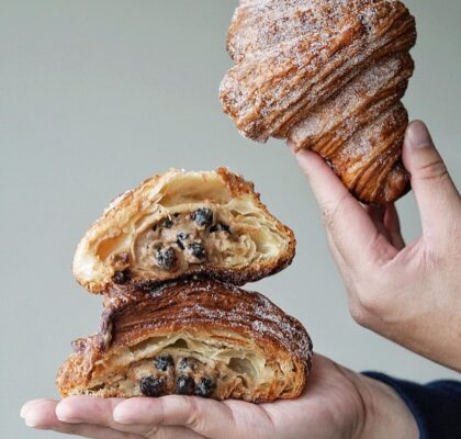 Boba Croissant at Little Fox Bakehouse | Hidden Gems Vancouver