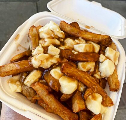 Montreal Style Poutine at Anny's Dairy Bar | Hidden Gems Vancouver