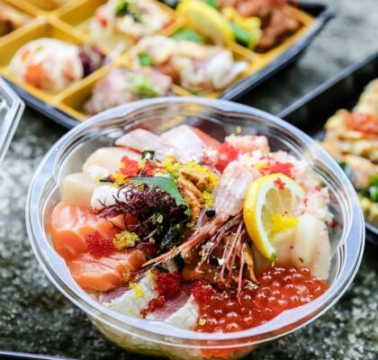 Seafood Bara Chirashi Bowl at Takenaka | Hidden Gems Vancouver