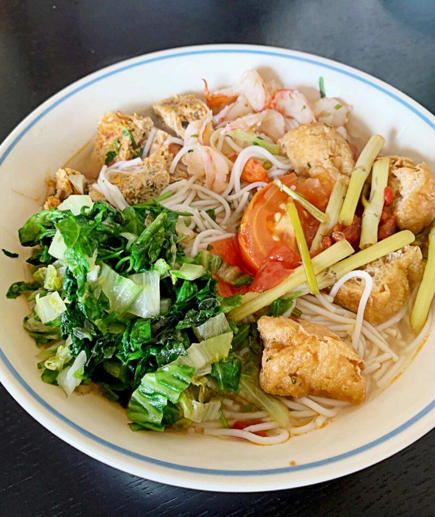 Vermicelli Crab Meat with Shrimp (Bun Rieu Cua Tom) at Viet Mama Cafe | Hidden Gems Vancouver