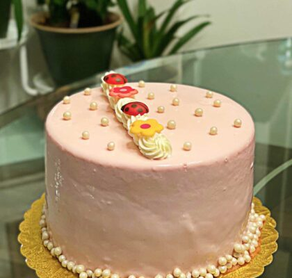 Pretty In Pink Cake at Trafiq | Hidden Gems Vancouver