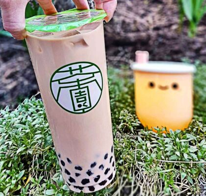 Original Milk Tea with Tapioca Pearls at Cha Yuan | Hidden Gems Vancouver