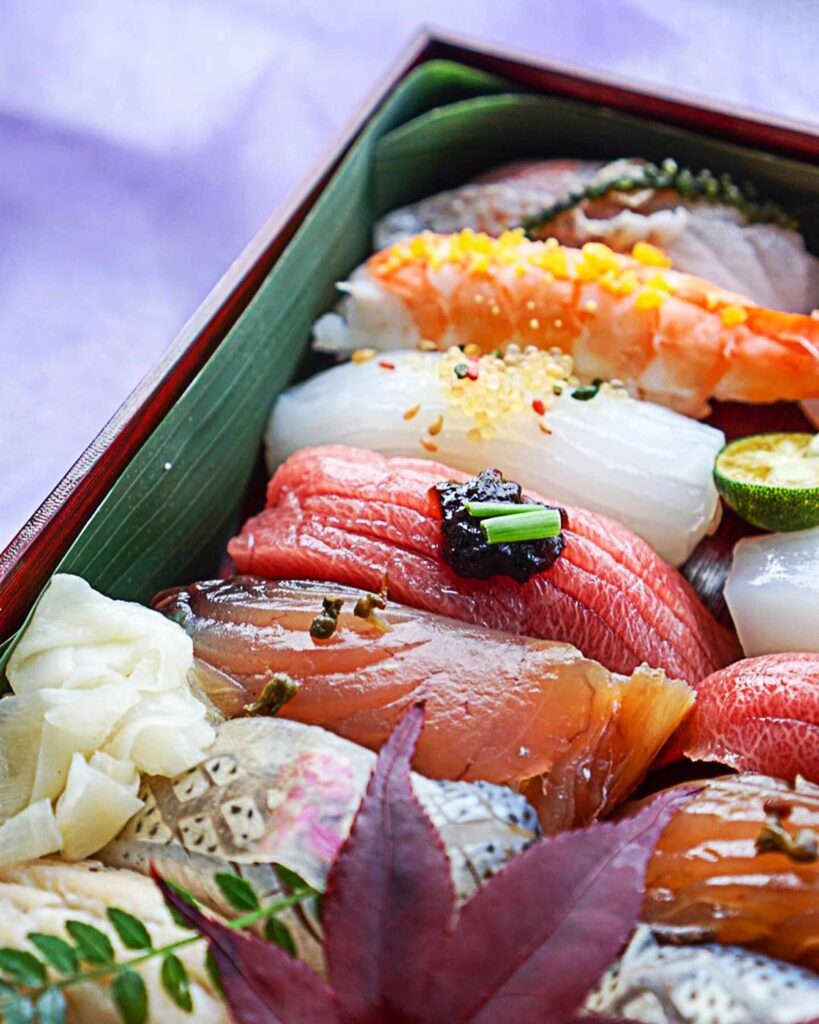 Traditional Nigiri Sushi at Orizume | Hidden Gems Vancouver