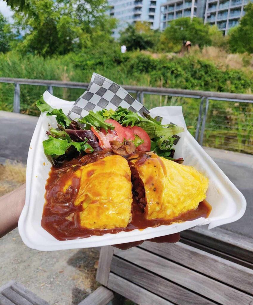 Omu-Hayashi Rice at Marulilu Cafe | Hidden Gems Vancouver