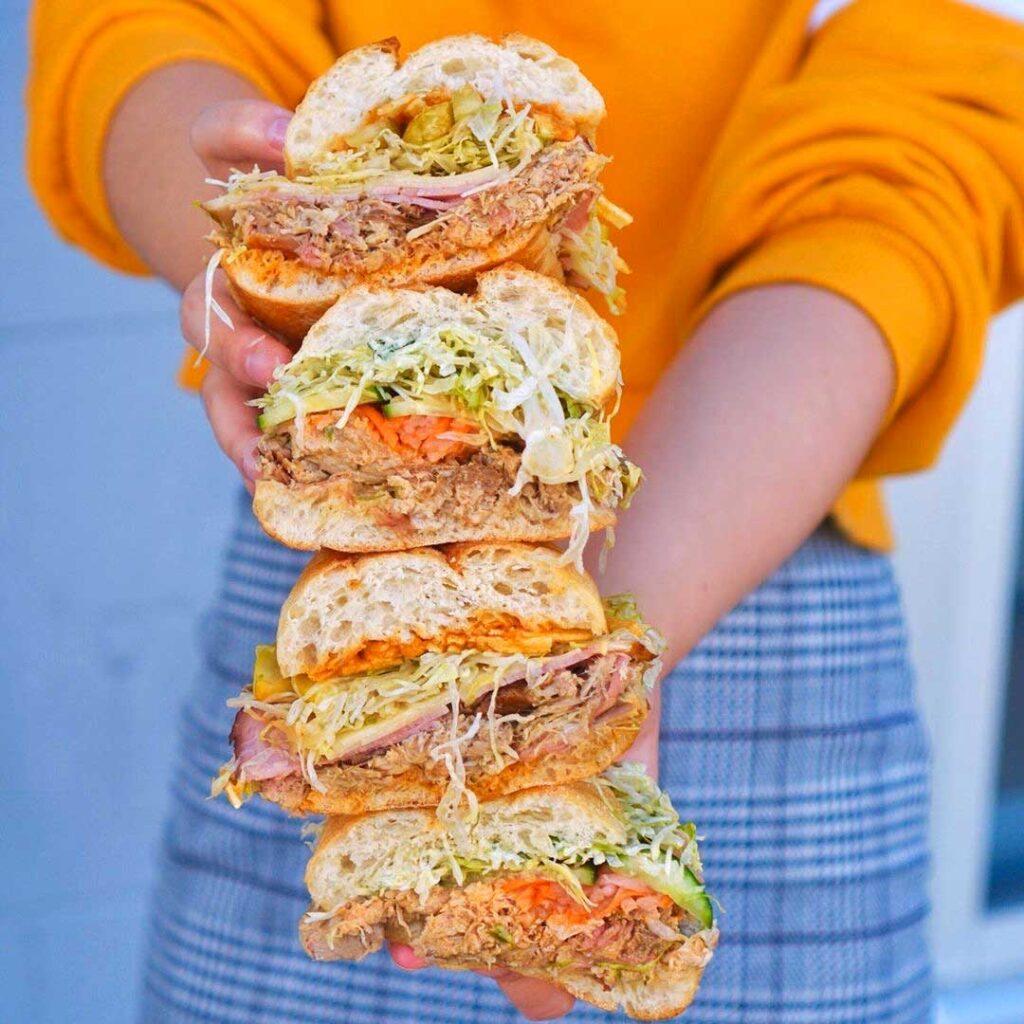 Tony Montana Sandwich at Big Star Sandwich Co. | Hidden Gems Vancouver