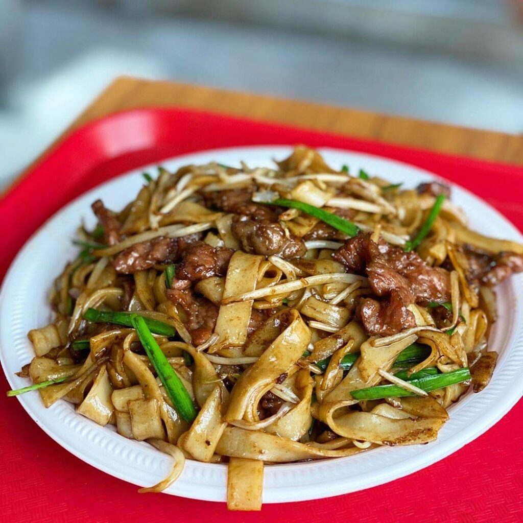 Fried Beef Ho Fun at Ming Fong Fast Food | Hidden Gems Vancouver