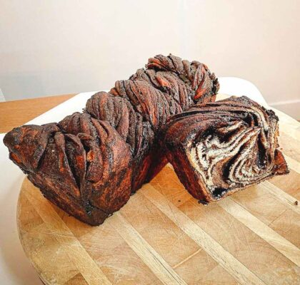 Dark Chocolate Babka at Kozak Ukraïnian Eatery | Hidden Gems Vancouver