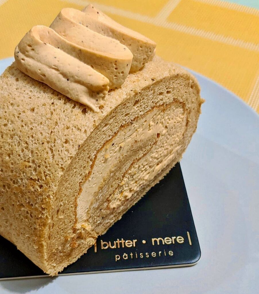 Thai Empire Cake Roll at Buttermere Patisserie | Hidden Gems Vancouver