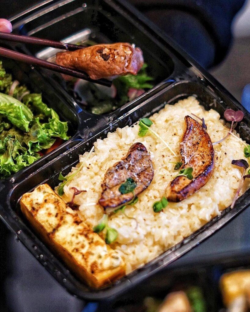 Creamy Risotto Teishoku Set at Hotpot Palace | Hidden Gems Vancouver