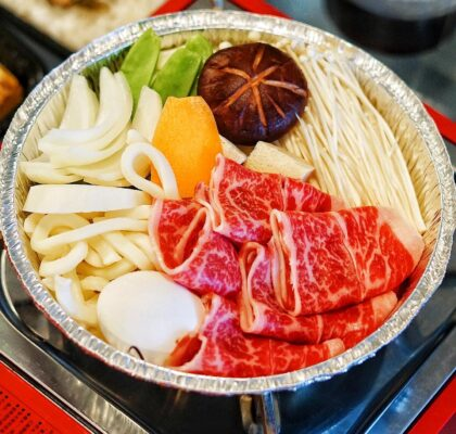Nabe Set at Hotpot Palace | Hidden Gems Vancouver