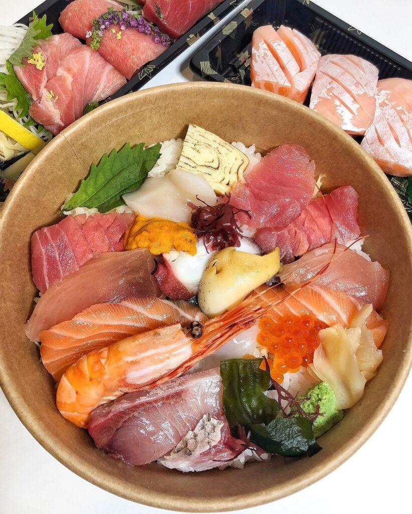 Chirashi Premium XL at Sashimiya | Hidden Gems Vancouver