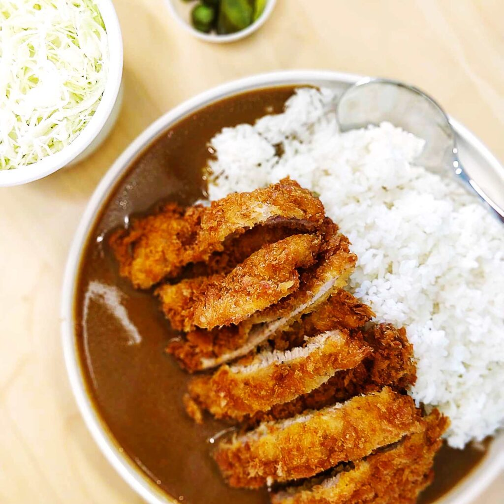 Double Crunchy Rosu Katsu and a side of curry at Saku | Hidden Gems Vancouver