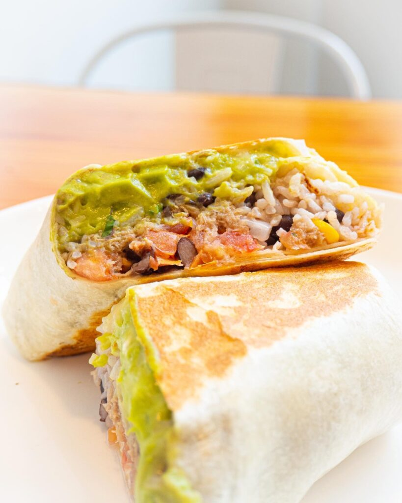Carnitas Burrito at Maizal RMF | Hidden Gems Vancouver