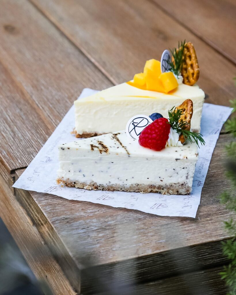Earl Grey Cheesecake at R Ki Coffee Lab   Hidden Gems Vancouver