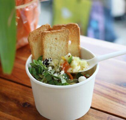 Mediterranean Krave Bowl at Krave Kulture Yogurt | Hidden Gems Vancouver