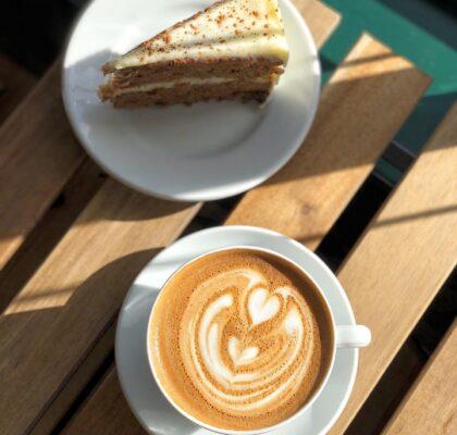 Carrot Cake at Mon Pitou Bistro & Bakery | Hidden Gems Vancouver