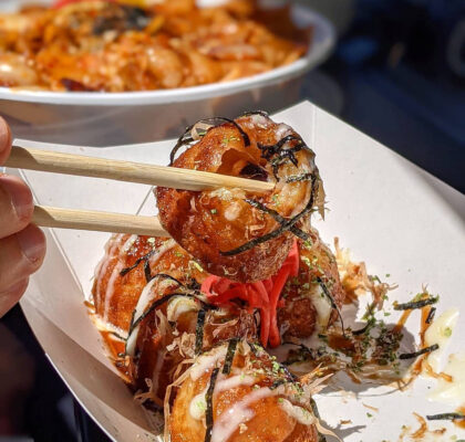 Takoyaki at Yuu Japanese Tapas | Hidden Gems Vancouver