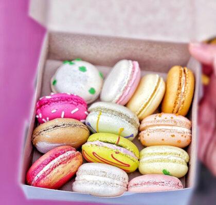 12 Pack Assorted Macarons at Bon Macaron Patisserie | Hidden Gems Vancouver