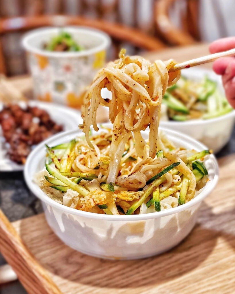 Cold Noodle with Sesame Sauce at Old Xian's Food | Hidden Gems Vancouver