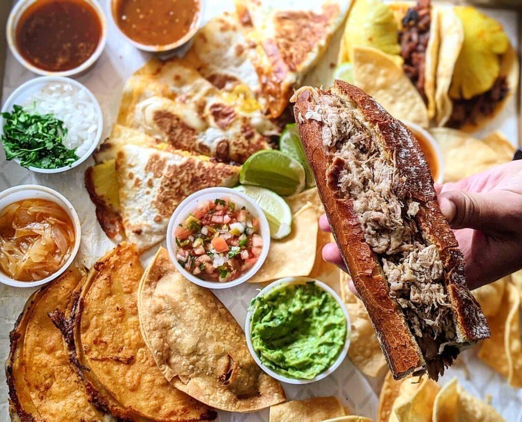 Torta Ahogada at Las Autenticas Tacos y Tortas Ahogadas | Hidden Gems Vancouver