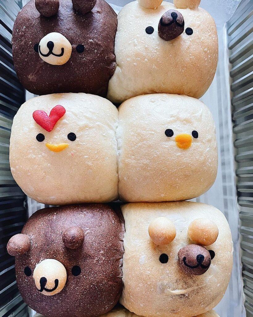 Animal Bread at Kanadell Japanese Bakery | Hidden Gems Vancouver