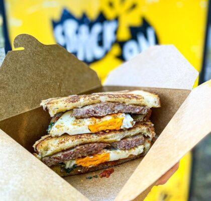 Crack Sandwich at Crack On | Hidden Gems Vancouver