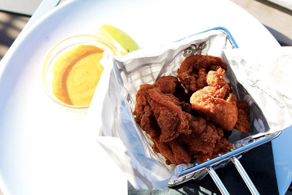 Karaage Chicken at Pat Quins Golf Club | tryhiddengems.com
